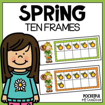 Spring Ten Frames