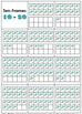 Numbers 1-10 and Numbers 11-20 Ten Frames - Spring Math -