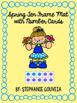 Spring Ten Frames to 20 Center