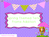 Spring Tens Frame Addition