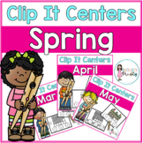 Spring Tens Frame Clip It Centers