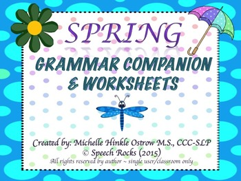 "Spring  ""The Bloomin' Bundle"" (Vocabulary, Grammar, Articulation & More)"