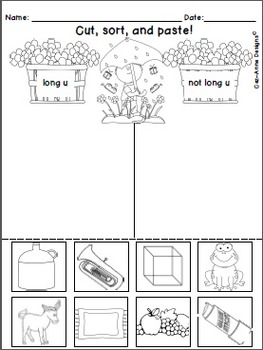 Spring Theme ~ Phonics Practice ~ Long Vowels