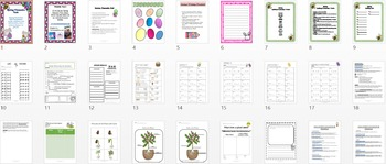 Spring Thematic Unit W/ Lesson on The Plant Life Cycle
