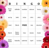 Spring Theme Bingo Cards