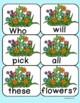 Spring Theme Building Sentences