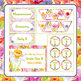 Spring Theme Classroom Decor / Decoration Set - Labels, Ch
