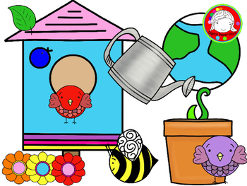 Spring Theme Clipart (Personal & Commercial Use)