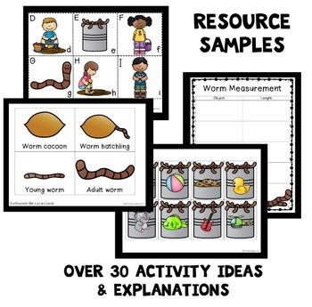 Spring Theme Home Preschool Lesson Plan BUNDLE