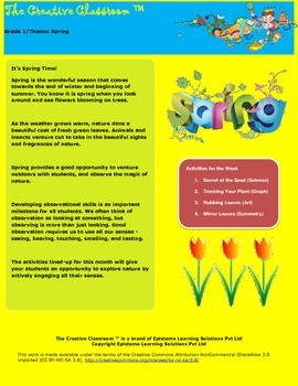 Spring Theme Lesson Plan