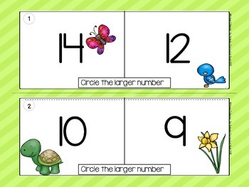 Spring Theme Math Centers
