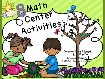 Spring Theme Math Centers
