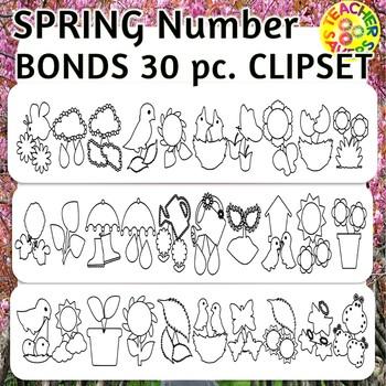 Spring Theme Number Bonds