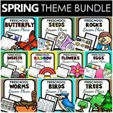Spring Theme Preschool Lesson Plan BUNDLE