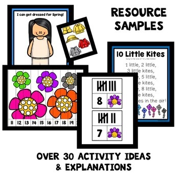 Spring Theme Preschool Lesson Plans -Spring Activities