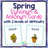 Spring Synonym and Antonym Activities for Speech and Language Therapy
