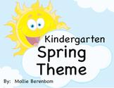 Spring Theme Unit (Kindergarten)
