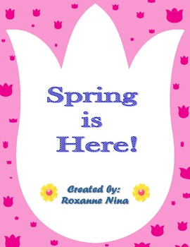 Spring Theme Worksheets and Activities