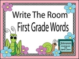 Spring Theme Write the Room First Grade Dolch Words