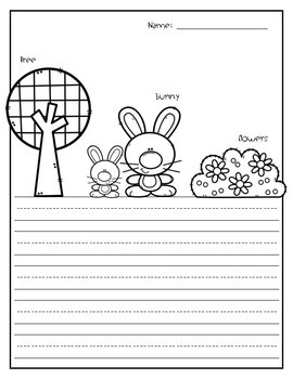 Spring Writing Pages