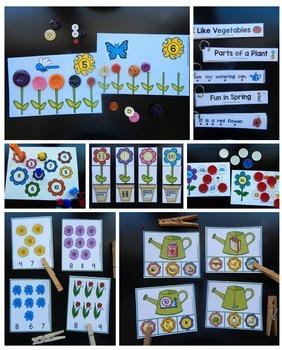 Spring Theme for Preschool & Kindergarten