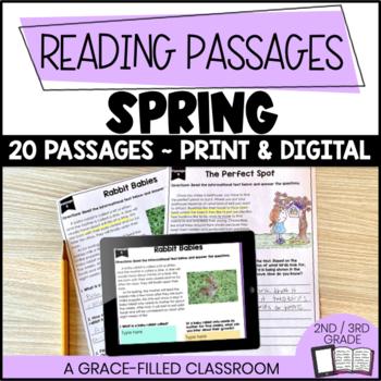 Fiction and Nonfiction Short Passages (Spring Theme)