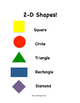 Spring Themed 2D Shapes Printables! - In Color