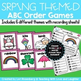 Spring Themed ABC Order Activities