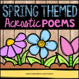 Spring Acrostic Poems