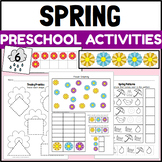 Spring Themed Activities and Centers for PreK and Kindergarten
