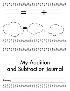Spring Themed Addition/Subtraction Journal