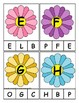 Spring Themed Alphabet Clip Cards