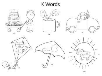 Spring Articulation Coloring Worksheets and Packet