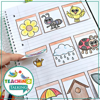 Spring Themed Articulation Notebooks