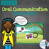 Spring Themed Barrier Game for Oral Communication