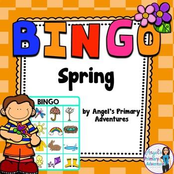 Spring Themed Bingo Game