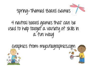 Spring-Themed Board Games