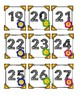 Spring Calendar Numbers