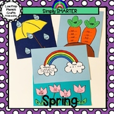 Spring Themed Cut and Paste Phonics Crafts