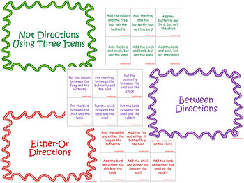 Spring Themed Directions