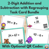 Double Digit Addition & Subtraction With Regrouping Task C