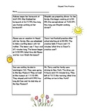Spring Themed Elapsed Time Practice - Aligned with VA SOLs