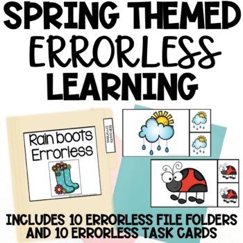 Spring Themed Errorless Activities