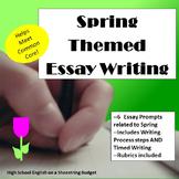 Spring Themed Essay Writing, w Rubrics & Printables