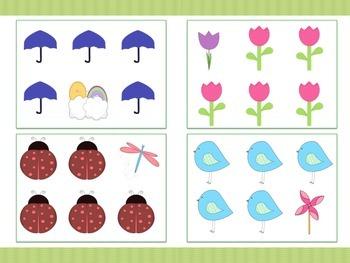Spring Themed File Folders (4)