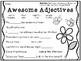 Spring Themed First Grade Literacy Packet
