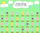 Spring Themed Flowers and Raindrops SMART Board Attendance Activity w/ SOUND