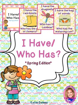 Spring Themed Game: I Have/Who Has?