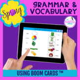 Spring Themed Grammar & Vocabulary BOOM Cards ™