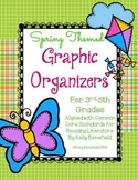 Reading Graphic Organizers: Spring Themed